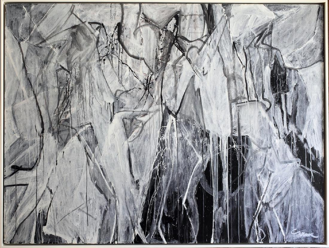 Nicolas Carone (American, 1917 - 2010) Abstract - 5
