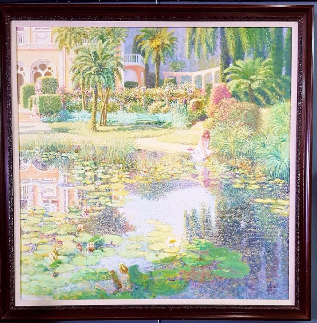 Louis P. Fabien HUGE French Impressionist Garden