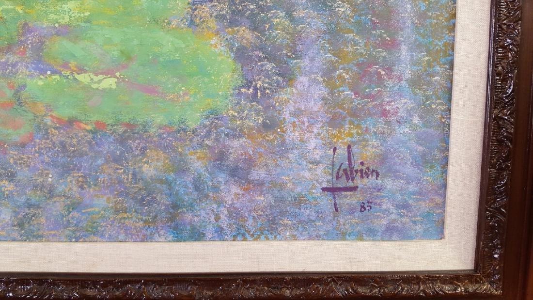 Louis P. Fabien HUGE French Impressionist Garden - 2