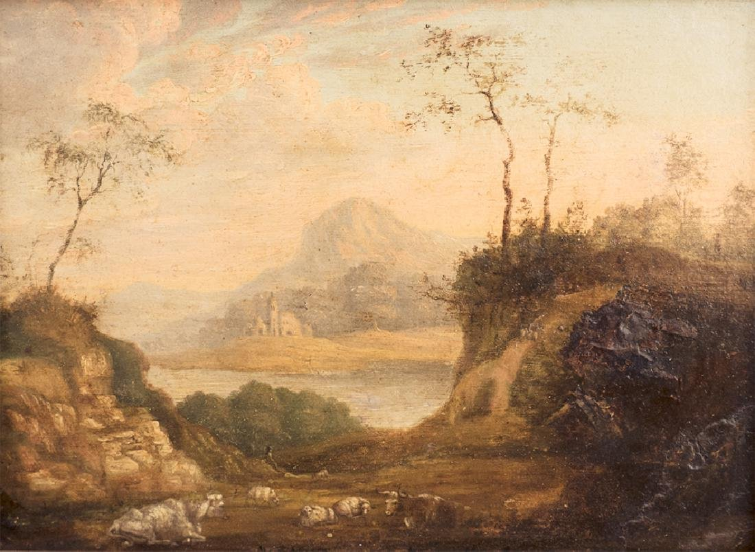 Flemish Old Master Landscape painting - 2