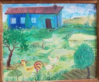Henri Maik (French, 1922-1993) French painting