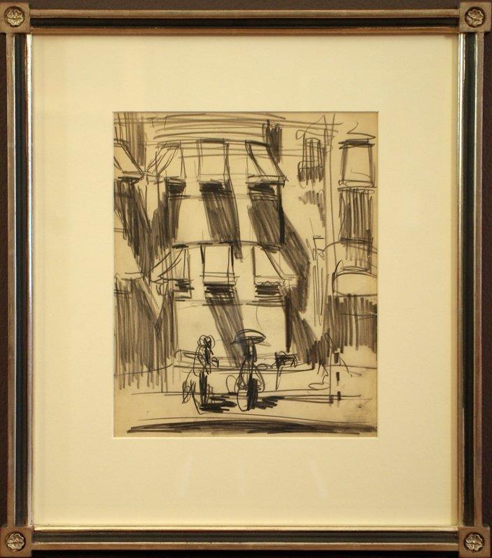2: George Benjamin Luks Drawing