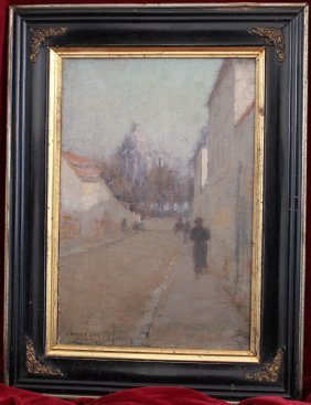 Milton H. Bancroft Impressionist Oil On Canvas
