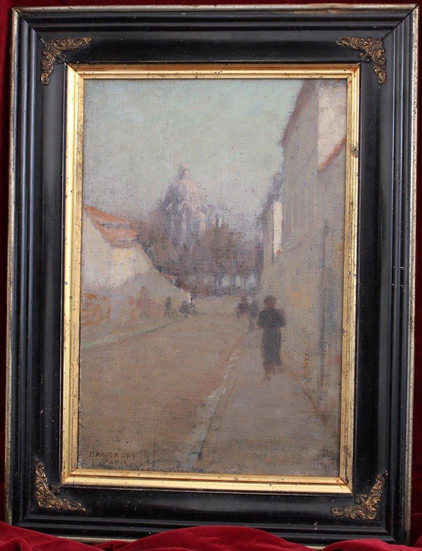 3: Milton H. Bancroft Impressionist Oil on Canvas