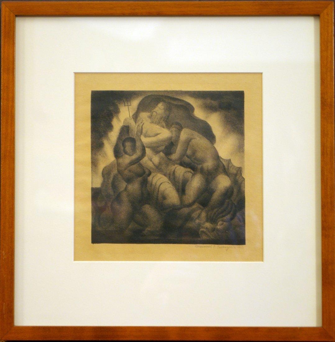 13: Manuel G. Silberger Art Deco era