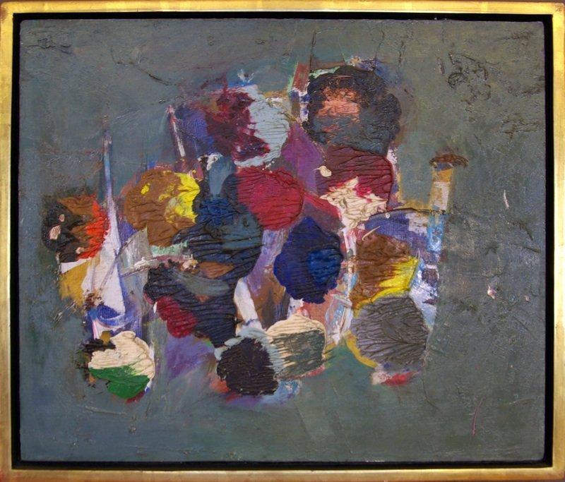 17: John Saccaro San Francisco Abstract Expressionist