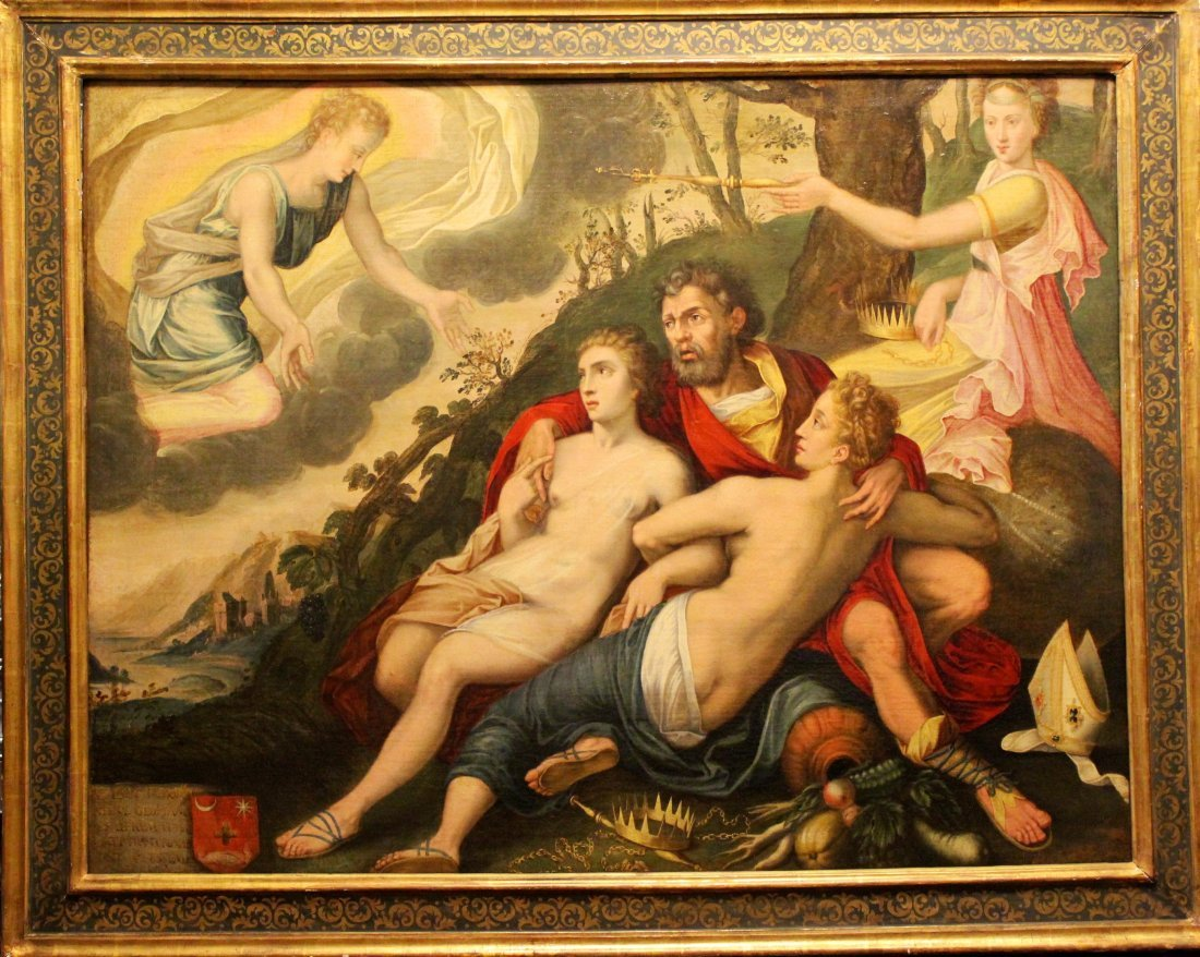 61: Francesco Primaticcio Fontainbleau Old Master