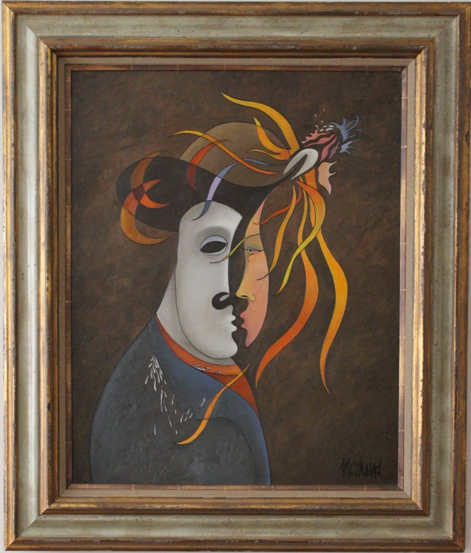 Philippe Marchand surrealist painting