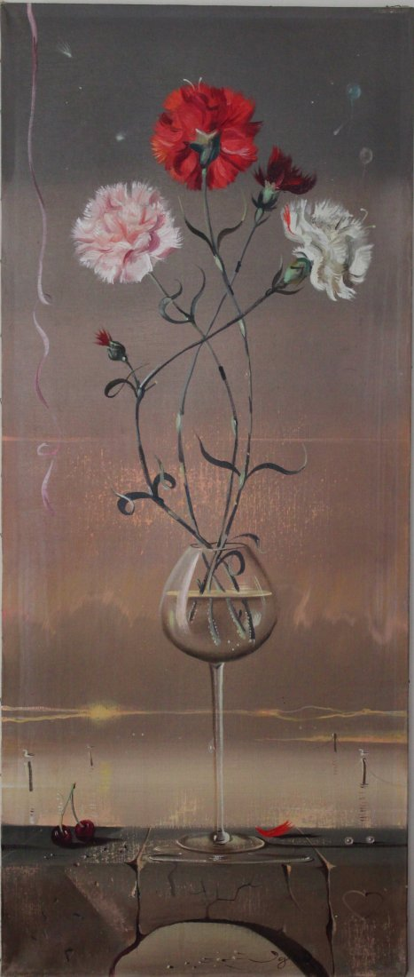 Igor Pantuhoff surrealist still life painting