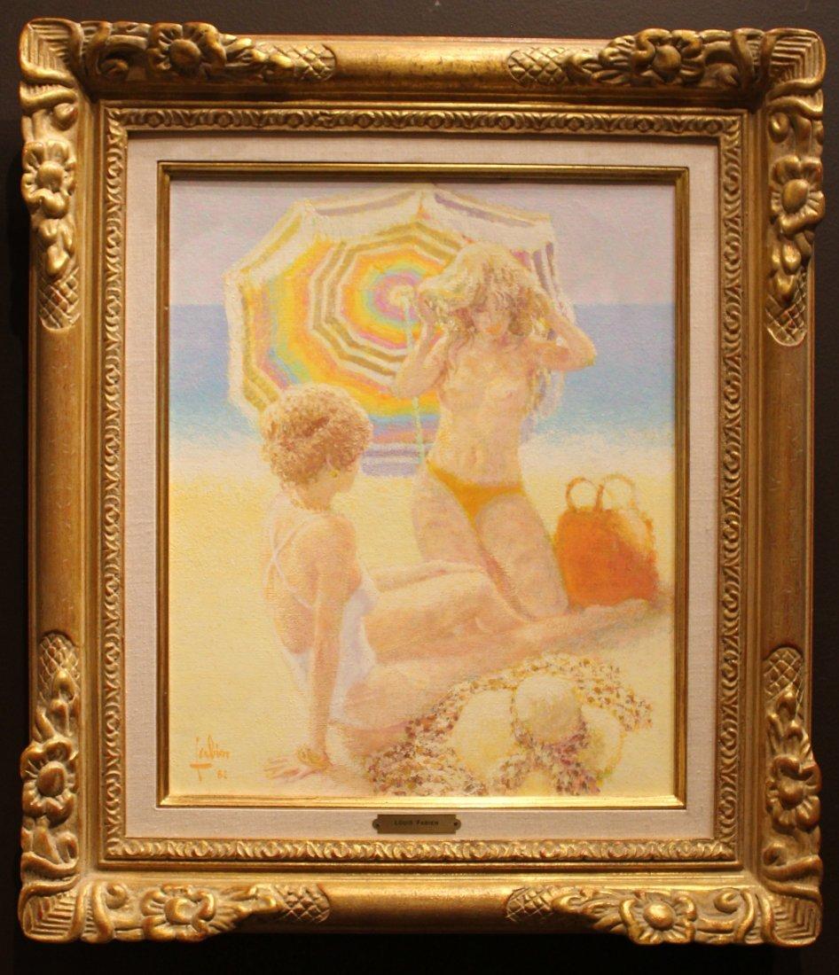 """Louis Fabien """"Le Parasol Arc-en-Ciel"""""""