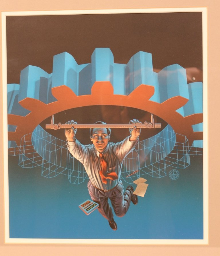 Richard Wehrman surrealist technology illustration