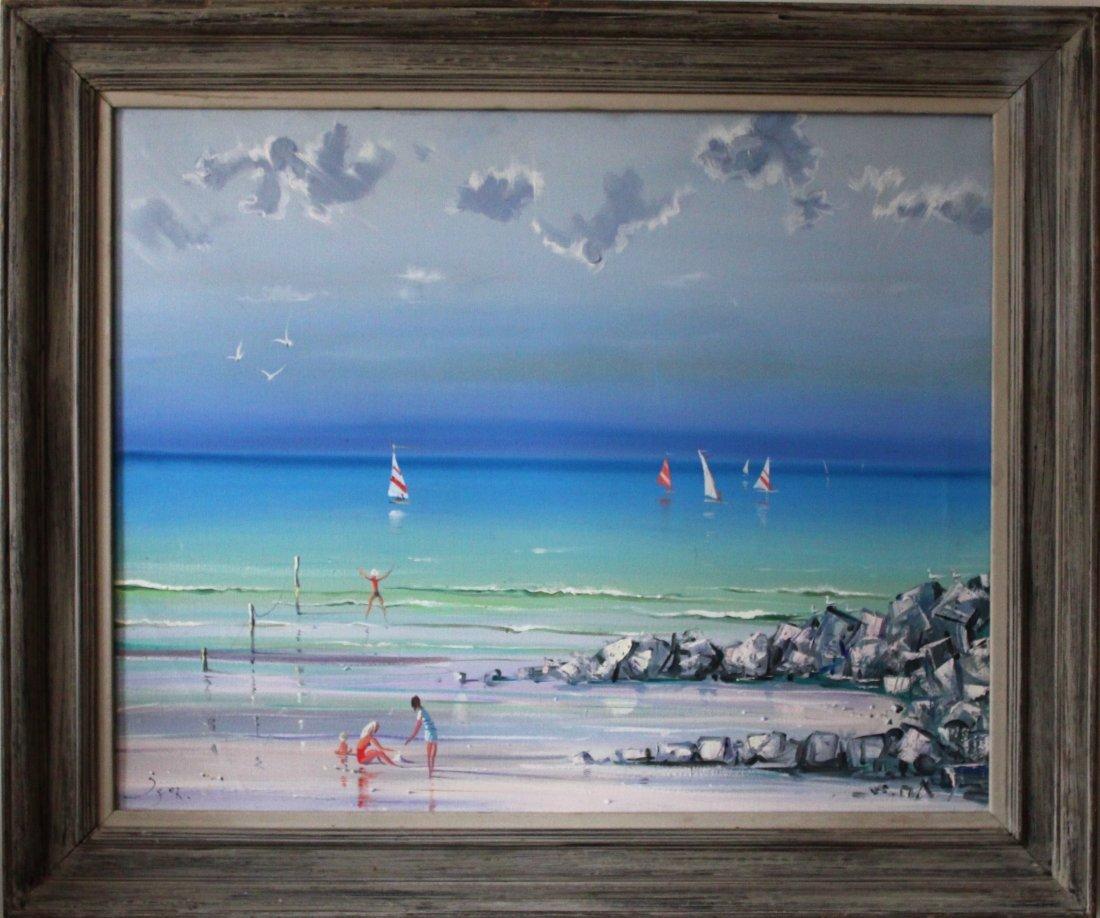 Igor Pantuhoff surrealist seascape