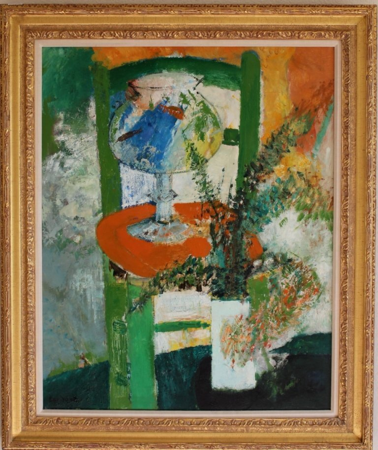 Guy Bardone oil on canvas French Modern painting