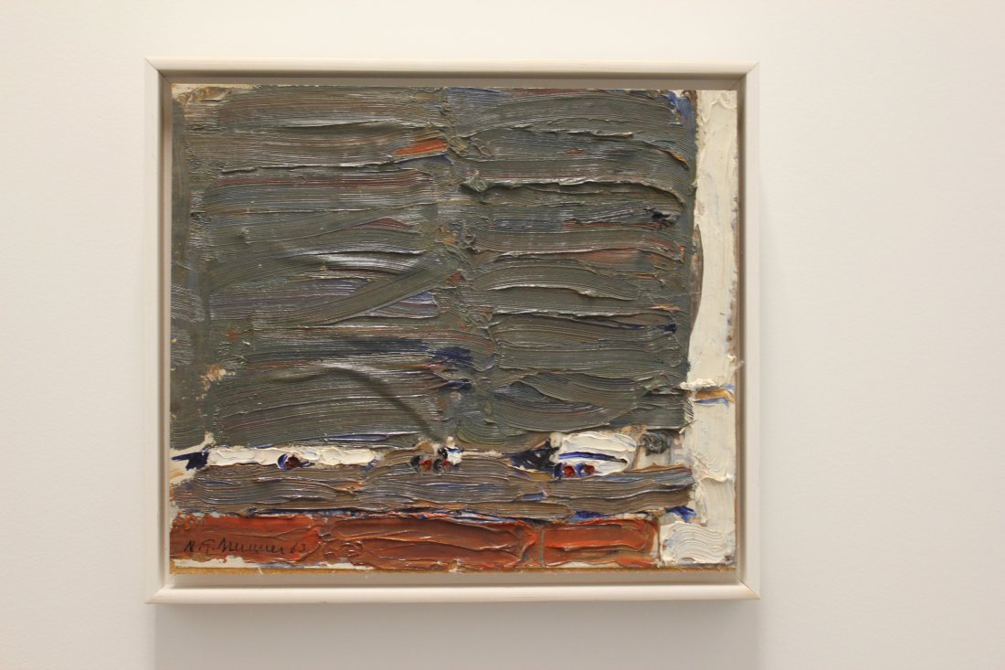 Nils Goran Brunner Swedish Mid Century Modern Painting