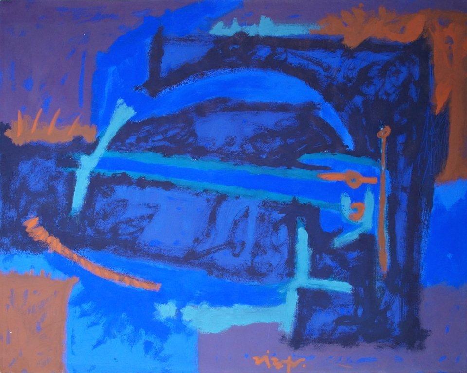 Rodolfo Nieto abstract painting