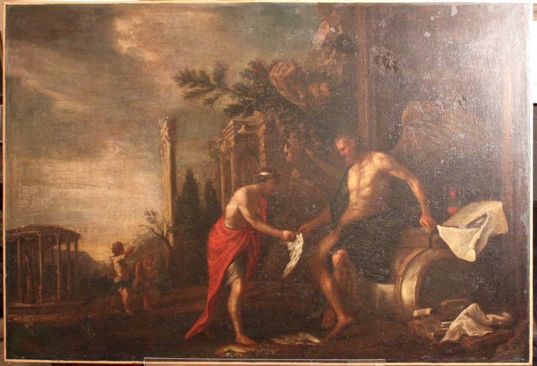Johann Heinrich Schönfeld (1609-1684) Baroque Painting