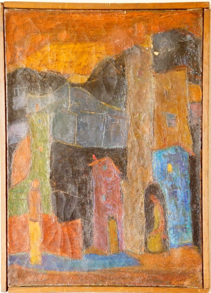 French Modernist Fauve Painting