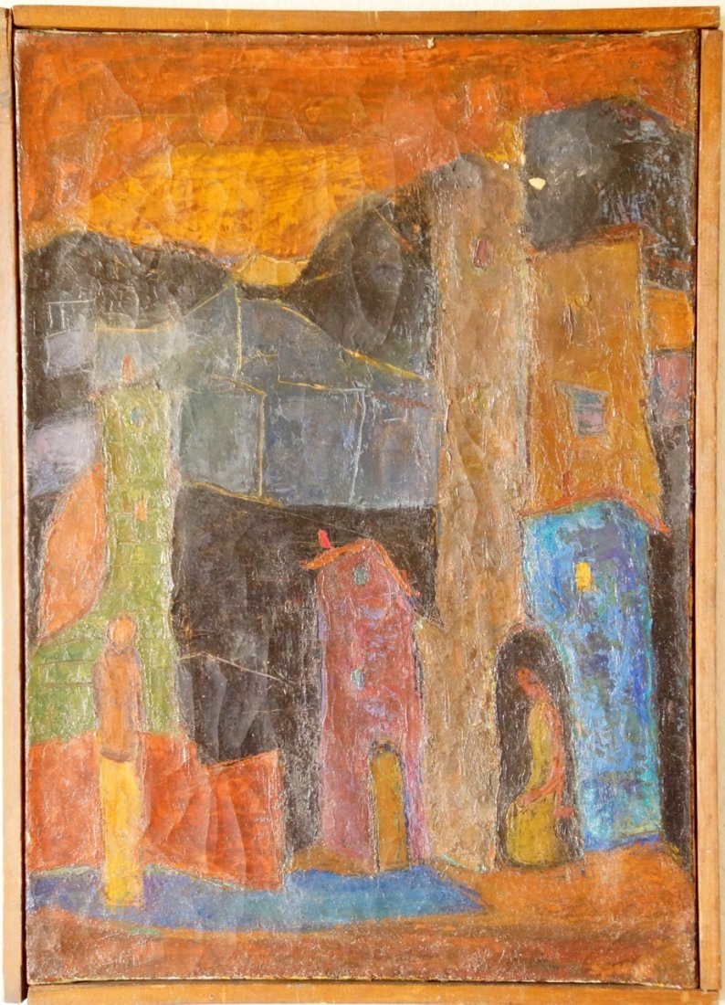 French Modernist Fauvist painting