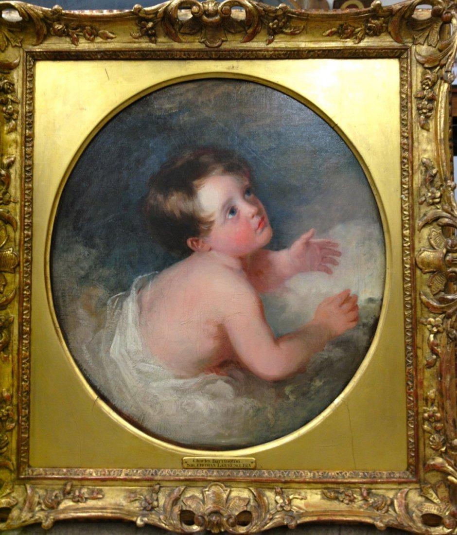 British Portrait Old Master Thomas Lawrence (attr)