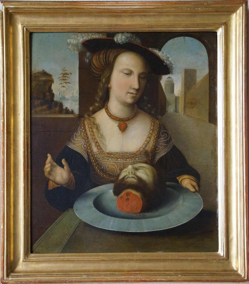 Lucas Cranach (manner of) oil on copper 16th century