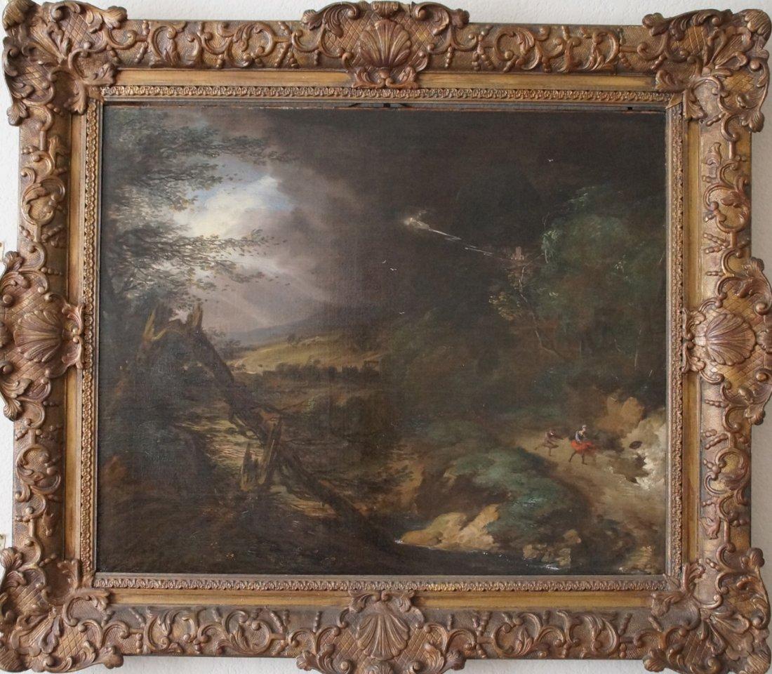British Old Master Landscape Gainsborough Style