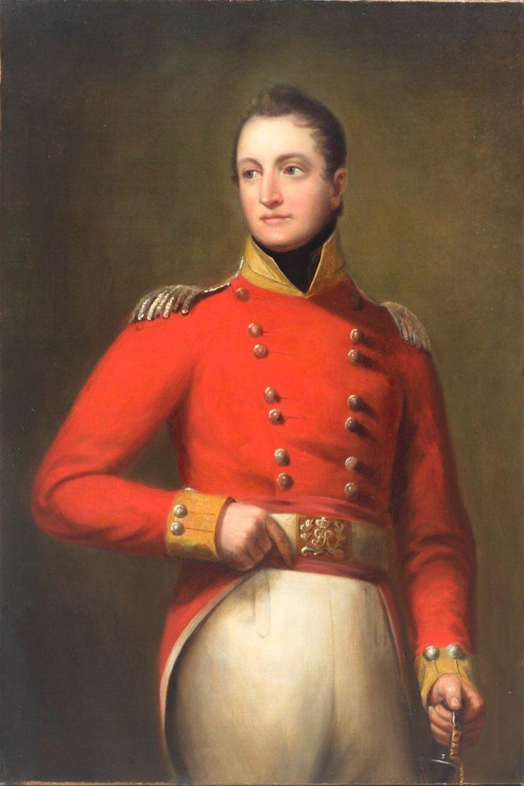 British Military Portrait Thomas Lawrence (circle of)