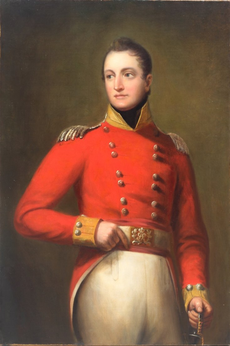 British Military Portrait Thomas Lawrence (circle of)