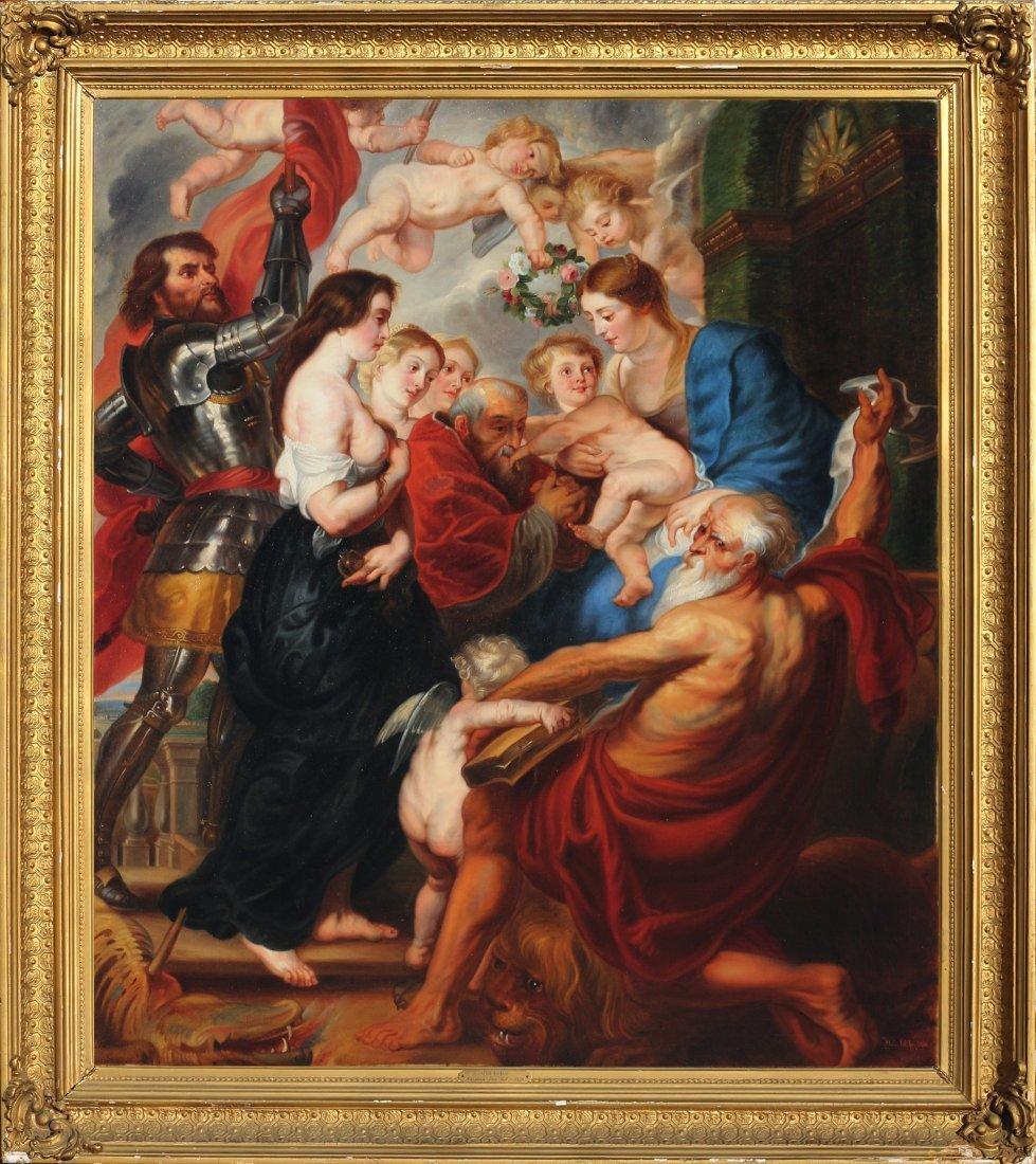 Peter Paul Rubens (after) 19th century old master copy