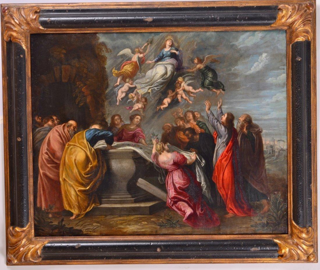 Flemish Old Master Painting Style of Rubens