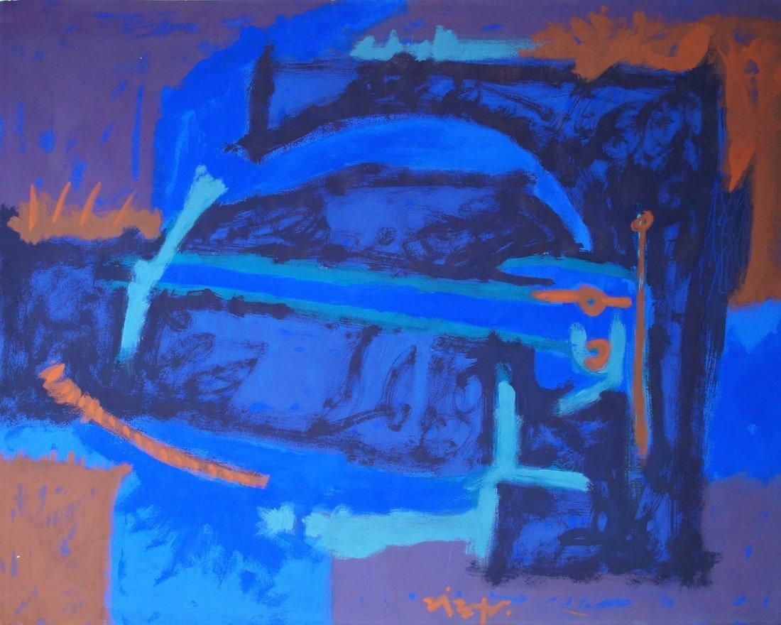 Rodolfo Nieto 1964 Latin Modernist Painting