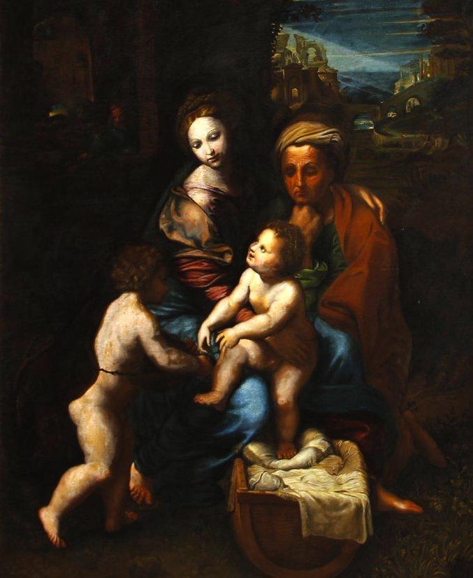 Italian Old Master, Raphael follower