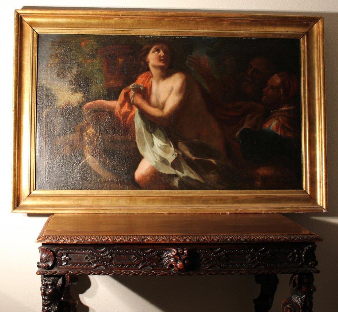 Caravaggio school Old Master Painting