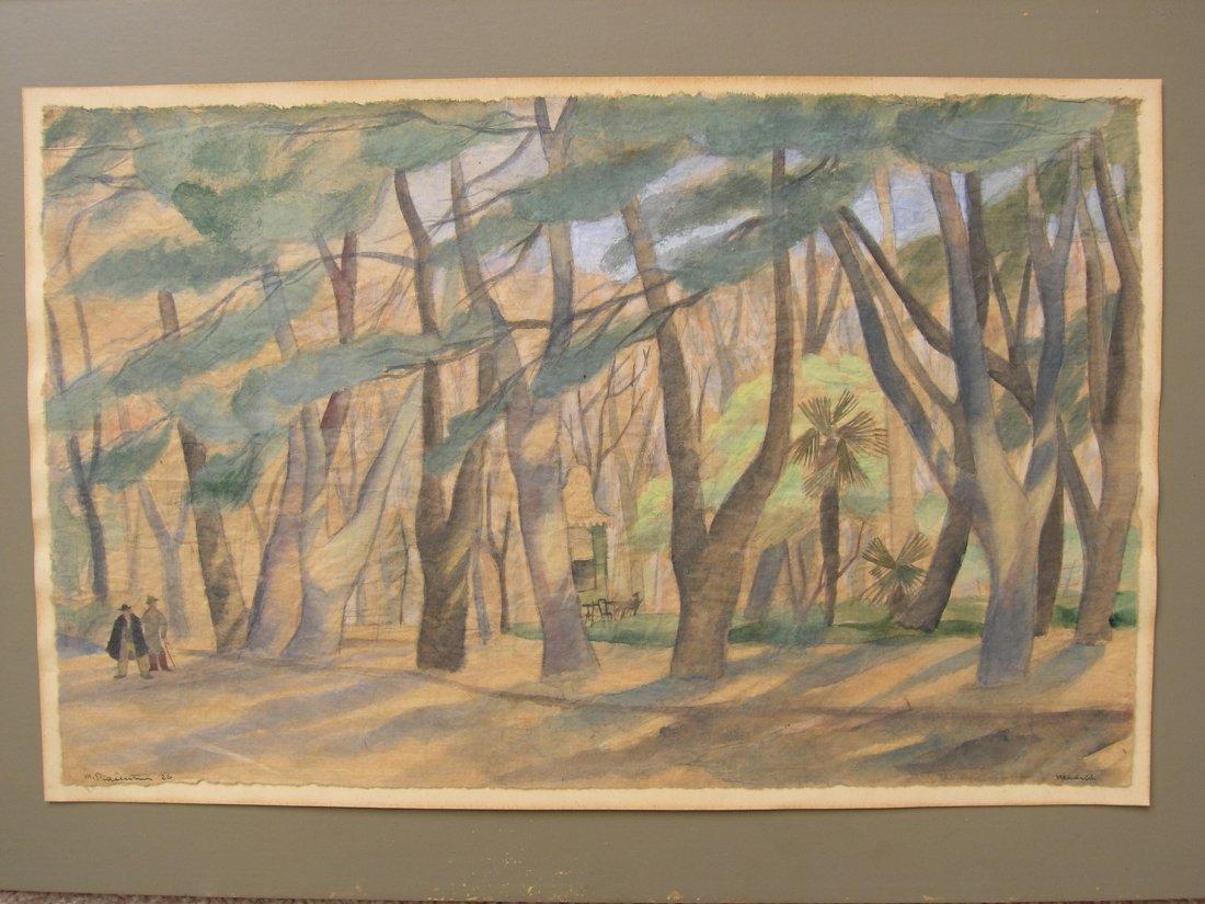 Marcello Piacentini Italian Fauvist Expressionist