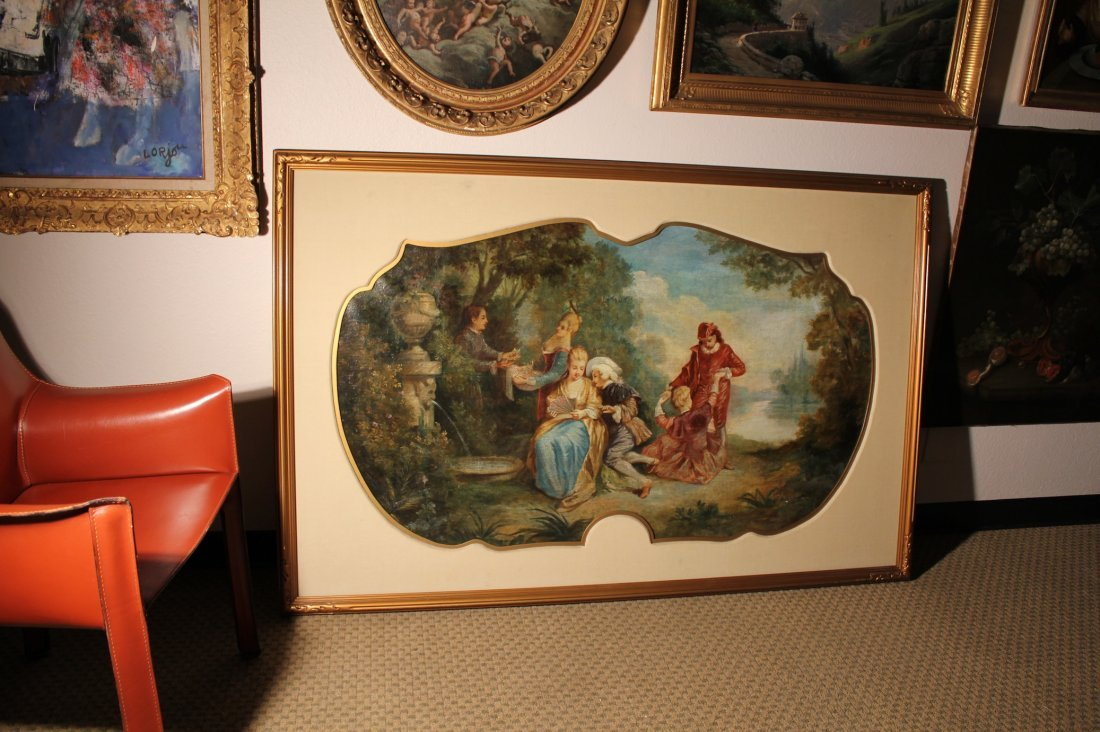 Boucher Circle French old master painting