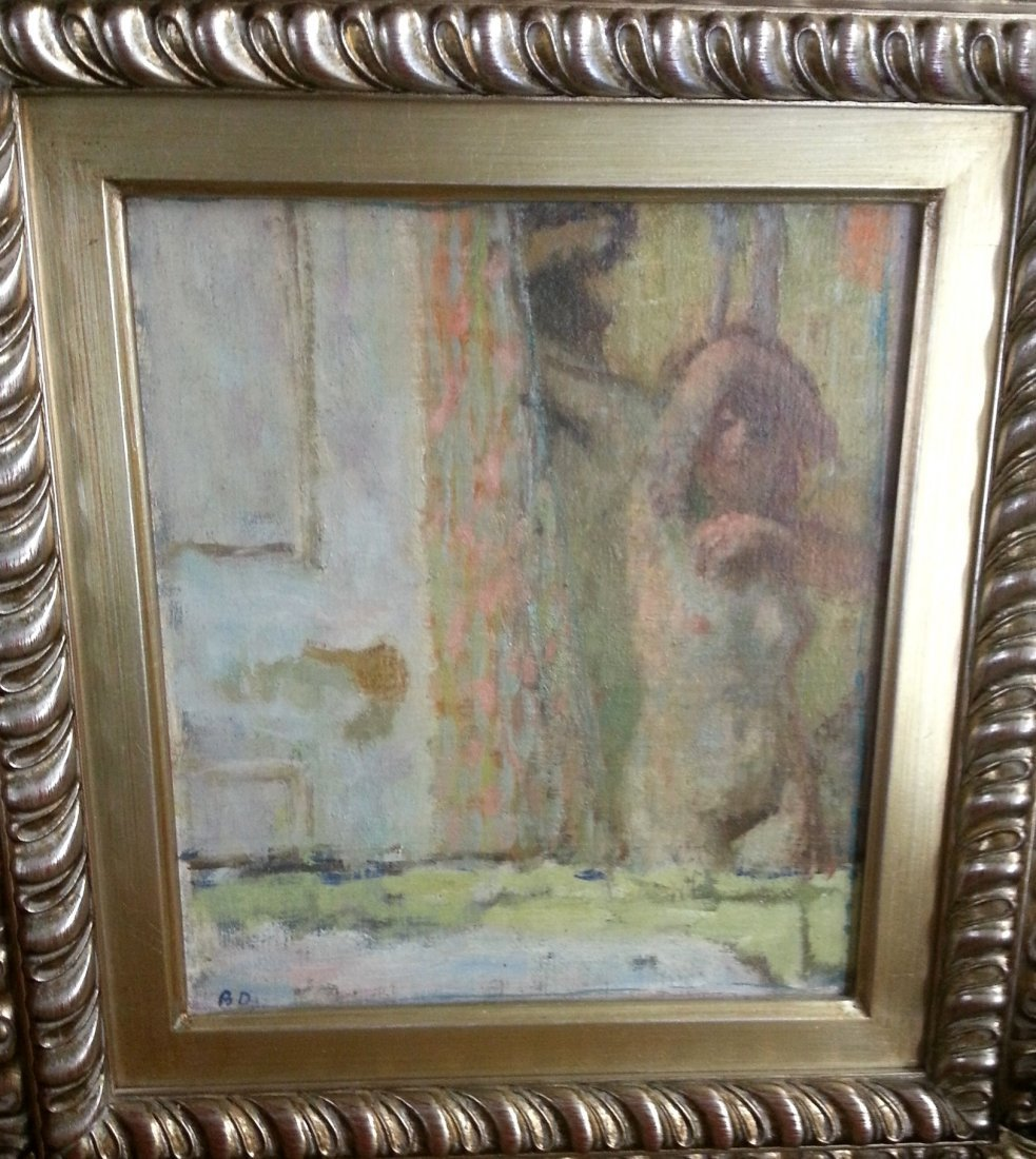 Bernard Dunstan British Modern oil painting