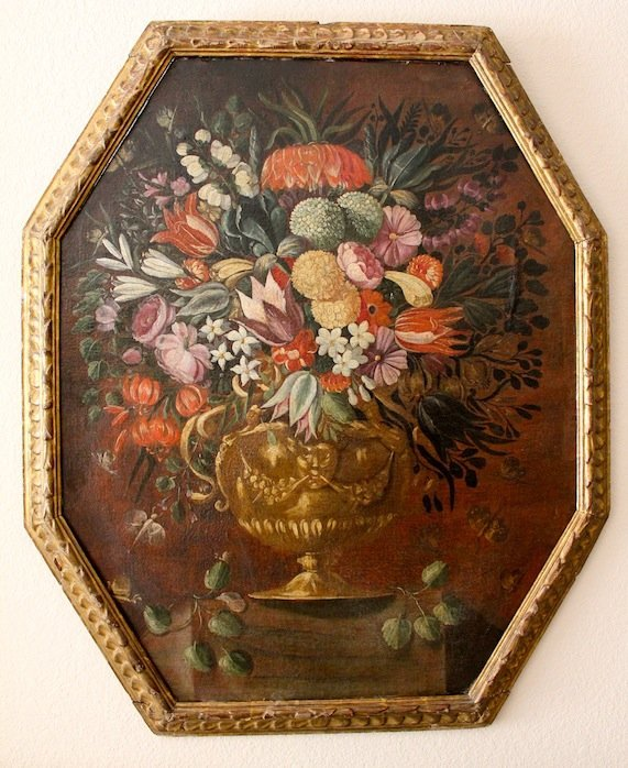 Italian Old Master Baroque floral LARGE