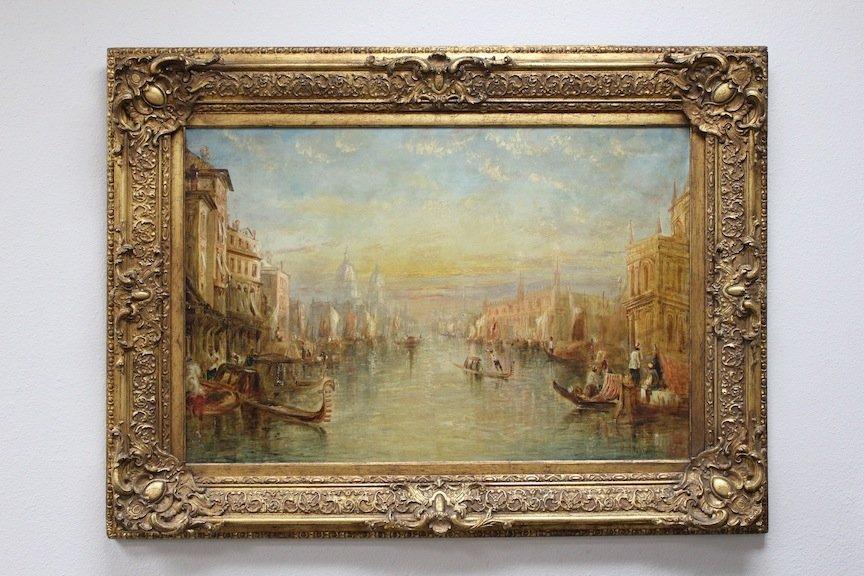 Francis Moltino 19th century Venice painting