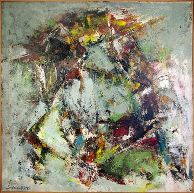 John Saccaro Abstract Expressionist San Francisco