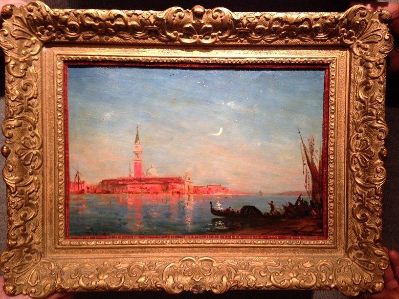 Felix Ziem oil painting Venice