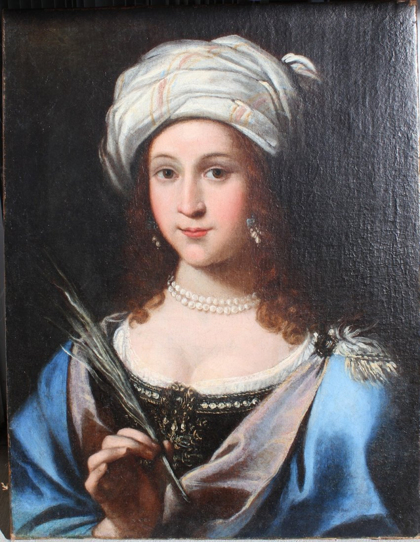 Italian Old Master Guido Reni circle Baroque Painting