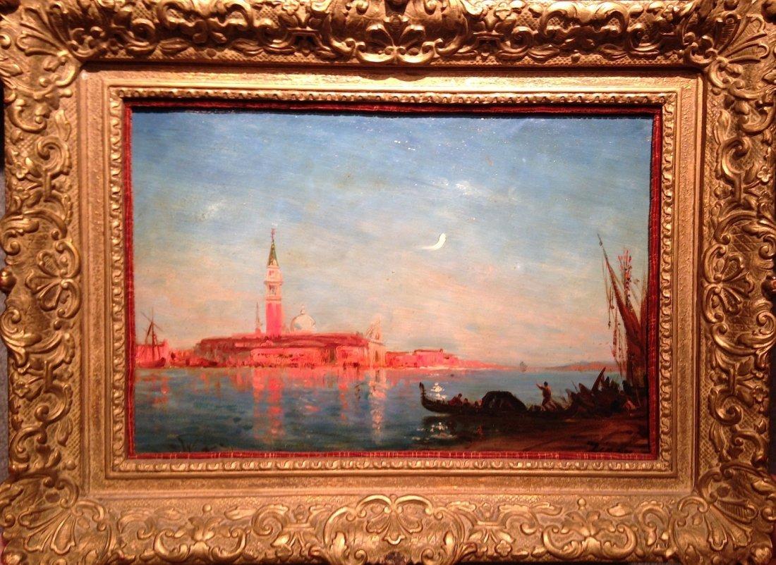Felix Ziem oil painting Venice French