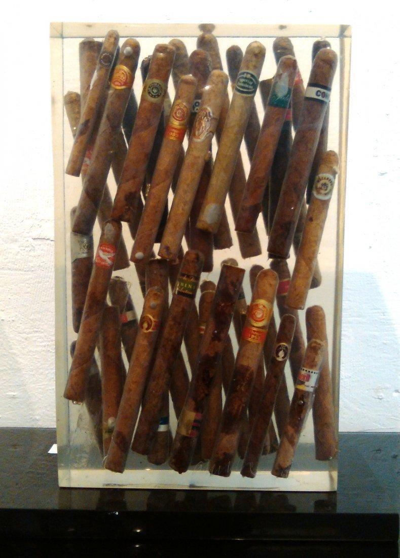 Arman Cigars Accumulation POP Sculpture