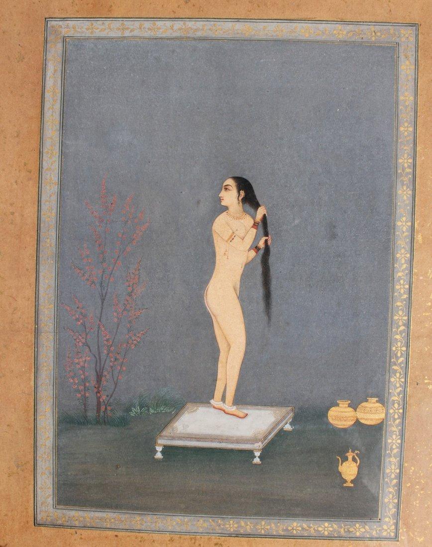 Mughal Indian Miniature nude