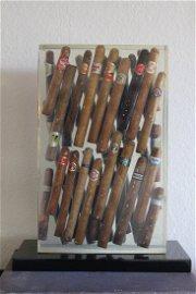 Arman Cigars Accumulation Sculpture