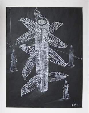 Kcho Alexis Levya Machado Cuban painting