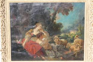 Boucher style French painting