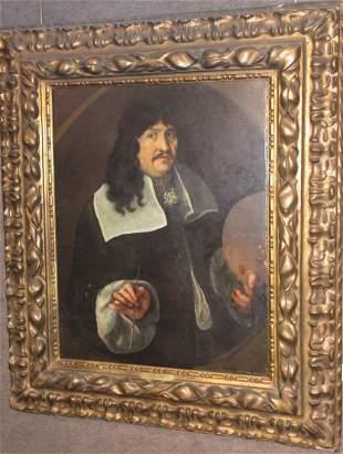 Old Master Baroque portrait