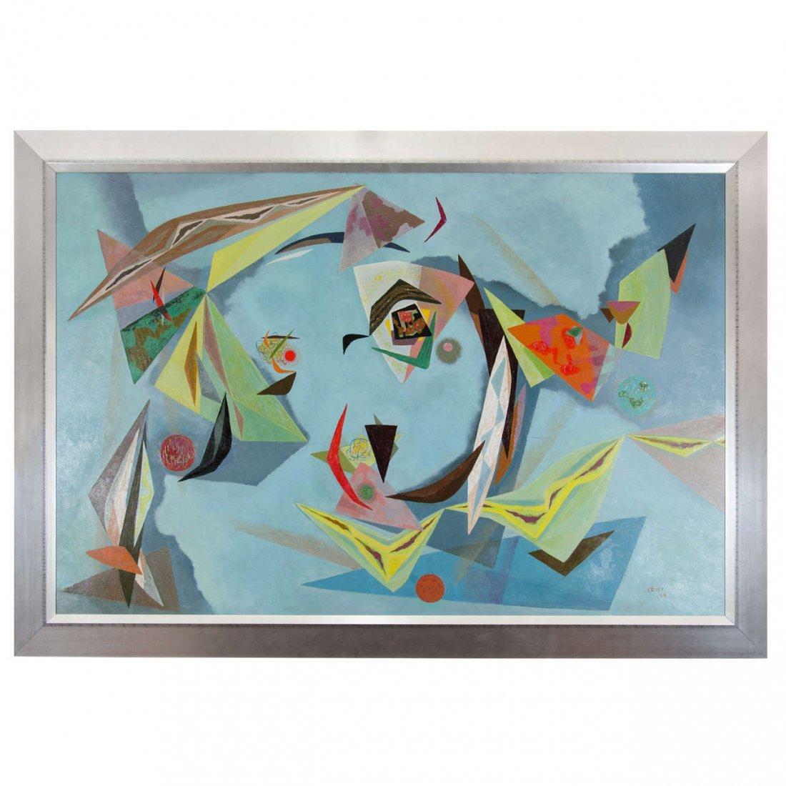 Richard Harrison Crist Modern Painting Pennsylvania