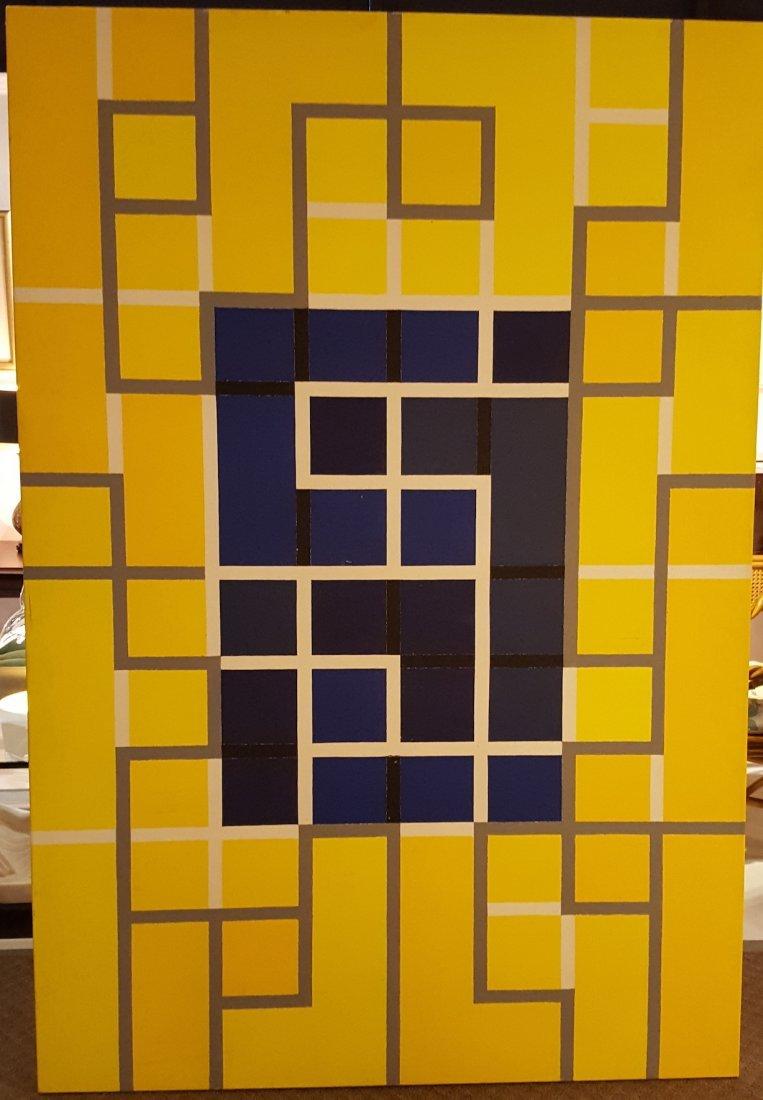"Richard Tobias ""Isba"" oil on canvas"