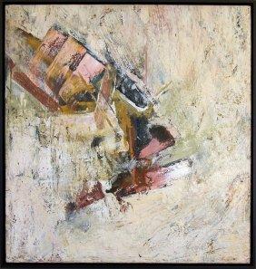 John Saccaro Abstract Expressionist California